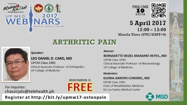 2017 04 05 Arthritis